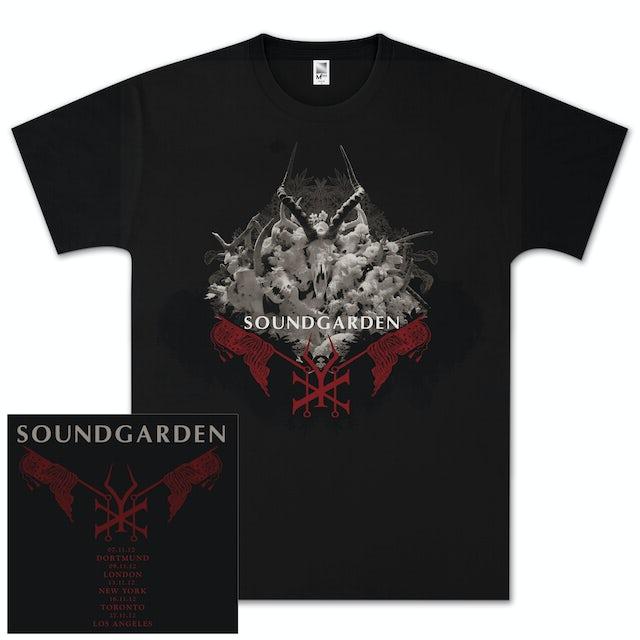 Soundgarden King Animal Red Flags T-Shirt