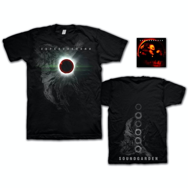 Soundgarden Superunknown CD/T-Shirt Bundle