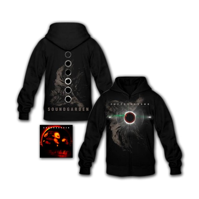 Soundgarden Superunknown CD/Hoodie Bundle