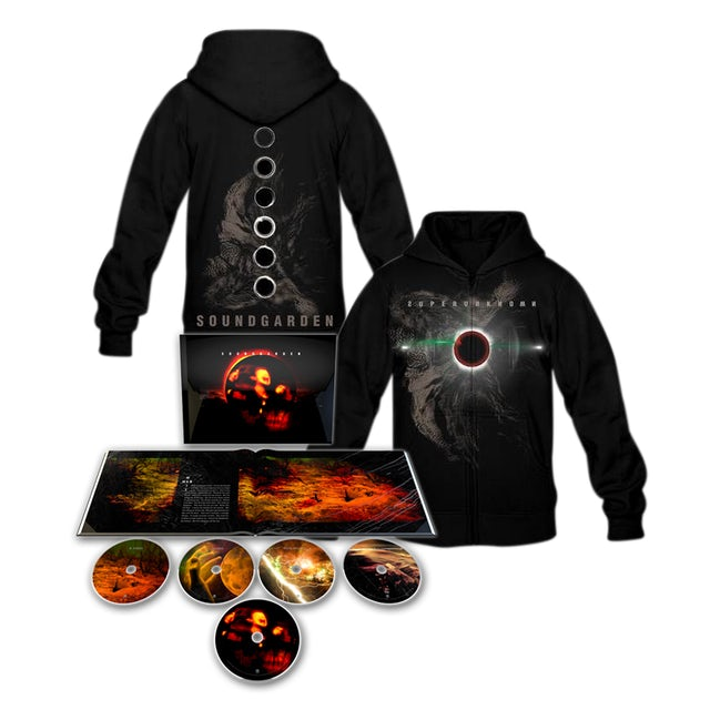 Soundgarden Superunknown Super Deluxe CD Set/Hoodie Bundle