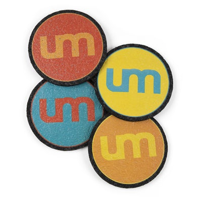 Umphrey's Mcgee Recycled Rubber Coaster Set
