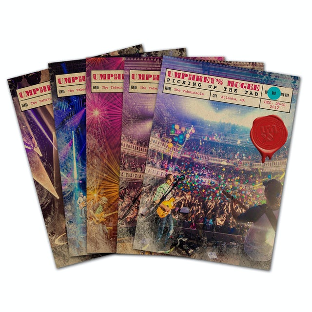 Umphrey's Mcgee Live from the Tabernacle - All Night Long Bundle