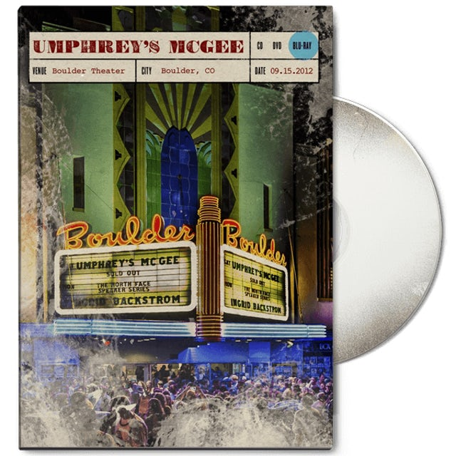 Umphrey's Mcgee Live at Boulder Theater DVD/Blu-Ray