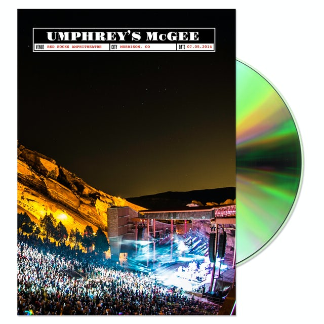 Umphrey's Mcgee UMerica, On The Rocks DVD/Blu-ray