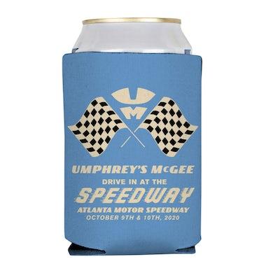 Umphrey's Mcgee Blue Speedway Koozie