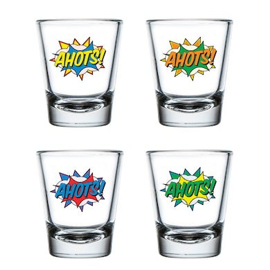 Umphrey's Mcgee Ahots Shot Glass Set of 4