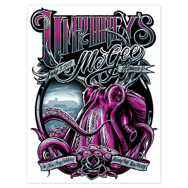 Umphrey's Mcgee New Jersey Stone Pony Outdoors Poster by Fighting For Dreams