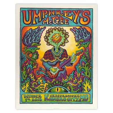Umphrey's Mcgee KC Crossroads Kansas City 2018 Poster