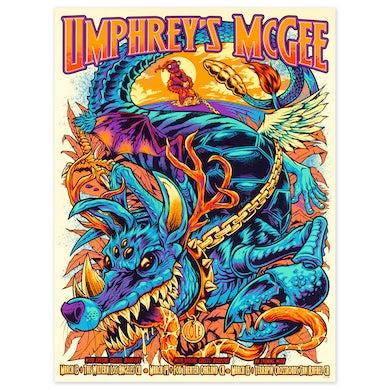 Umphrey's Mcgee Flyland Designs California 2020 Poster
