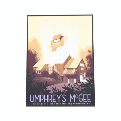 Umphrey's Mcgee Levon Helm Studios Livestream Poster