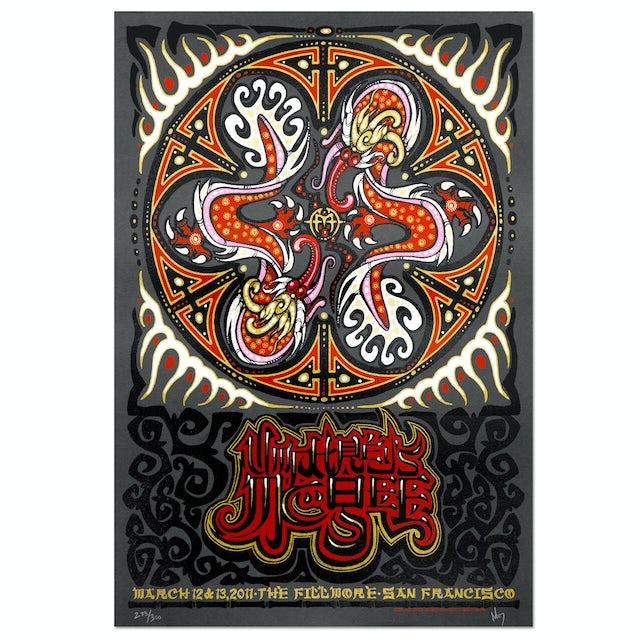Umphrey's Mcgee Jeff Wood San Francisco Fillmore 2011 Print