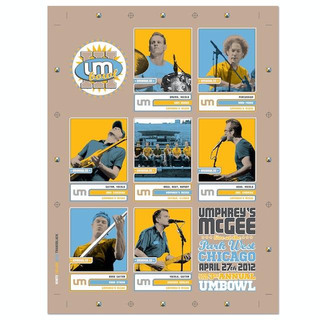 Umphrey's Mcgee UMBOWL III Poster