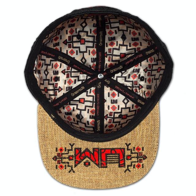 Umphrey's Mcgee UM Grassroots Hat - Hemp/Black