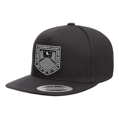 Umphrey's Mcgee Red Rocks Moon Crest Hat