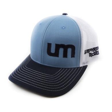 Umphrey's Mcgee Mesh Trucker Hat - Blue/White