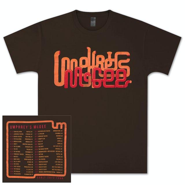 Umphrey's Mcgee UM 2013 Early Tour Tee