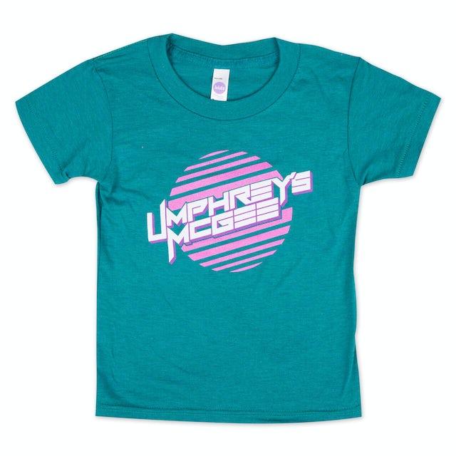 Umphrey's Mcgee UM Striped Sun Girls Tee