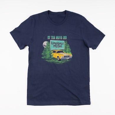 Umphrey's Mcgee Navy At The Drive Inn Short-Sleeved T-Shirt