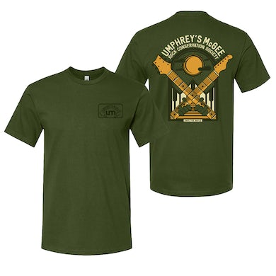 Save The Wails Green Front/Back Tee