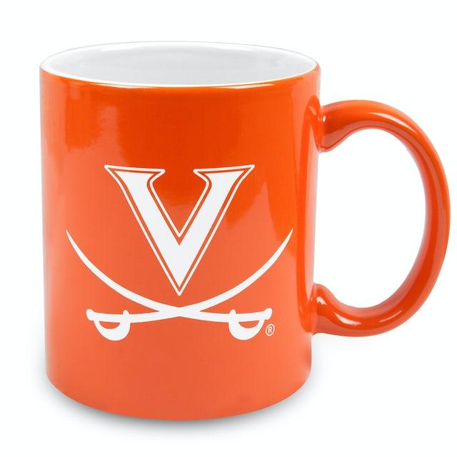 UVA Athletics Deep-Etched Ceramic Mug