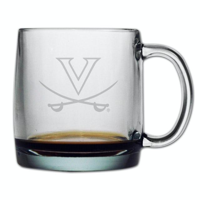 UVA Athletics 13oz Etched Coffee Mug