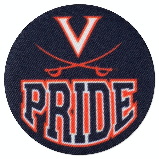 UVA Athletics Pride Fabric Fan Buttons