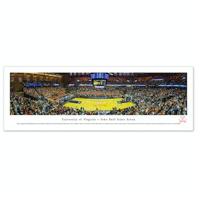 UVA Athletics Basketball Panorama Unframed (13.5 x 40)