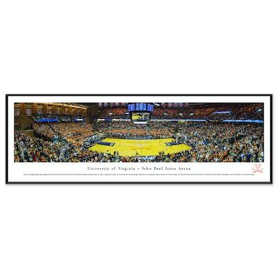 UVA Athletics Basketball Panorama Standard Frame (13.75 x 40.25)