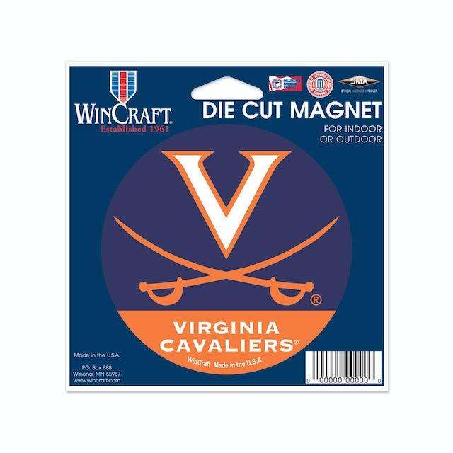 UVA Athletics University of Virginia Die Cut Magnet