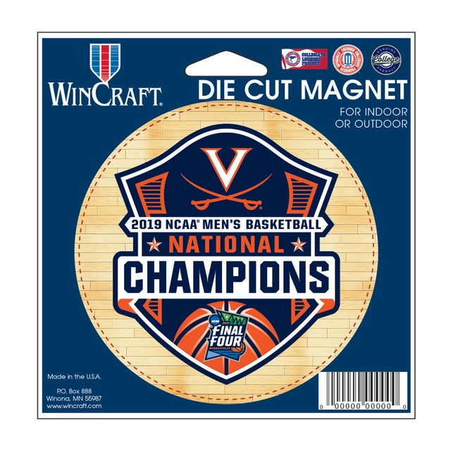 UVA Athletics 2019 National Champions Die-Cut Magnet