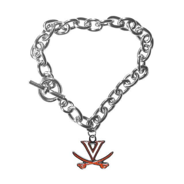 UVA Athletics Charm Chain Bracelet