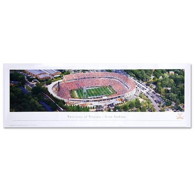 UVA Athletics Scott Stadium Panorama