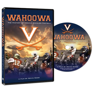 UVA Athletics Wahoowa: The History of Virginia Cavalier Football DVD