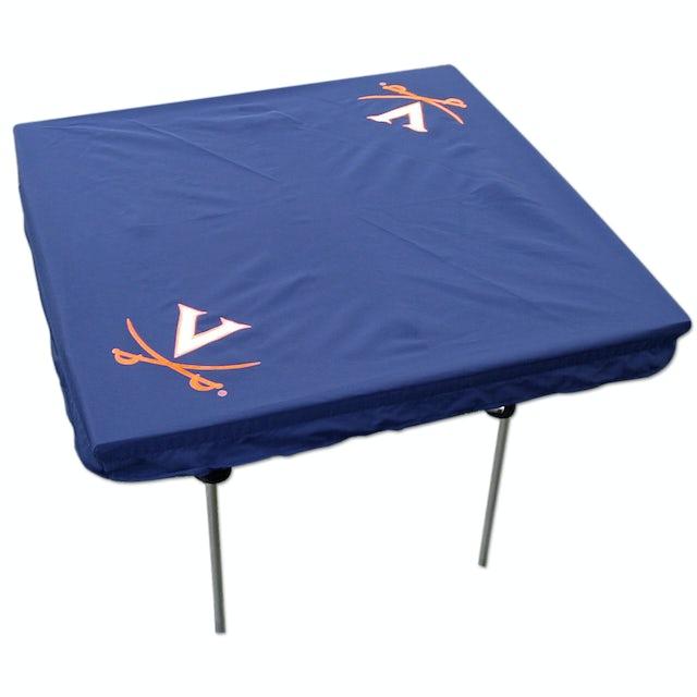 UVA Athletics V Sabre Card Table Cover