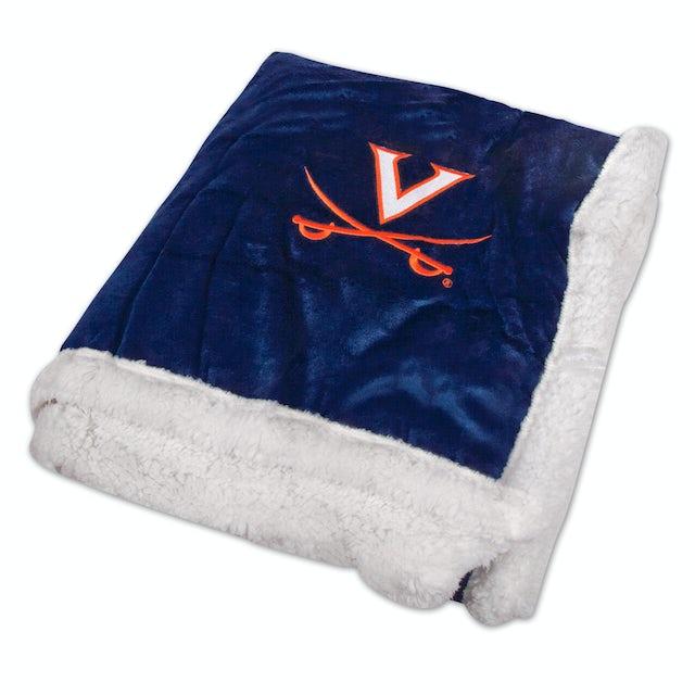 UVA Athletics Sherpa Blanket