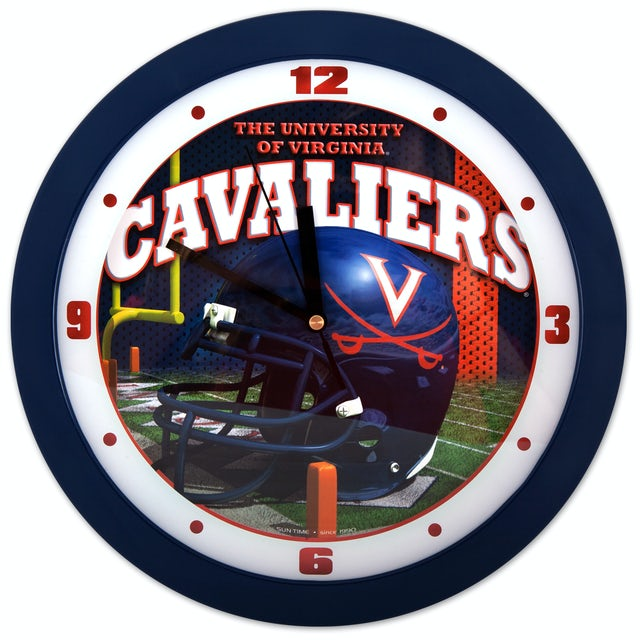 UVA Athletics Helmet Wall Clock