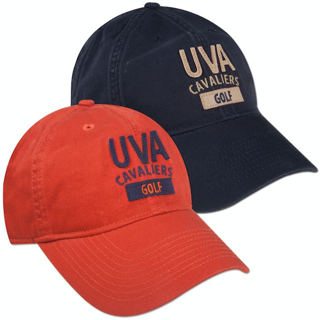 UVA Athletics Golf EZ Twill Adjustible Cap