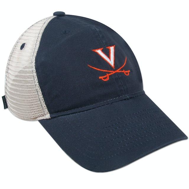UVA Athletics Youth EZ Twill Trucker Adjustible Cap