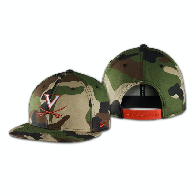 UVA Athletics Nike True Camo Adjustible Cap