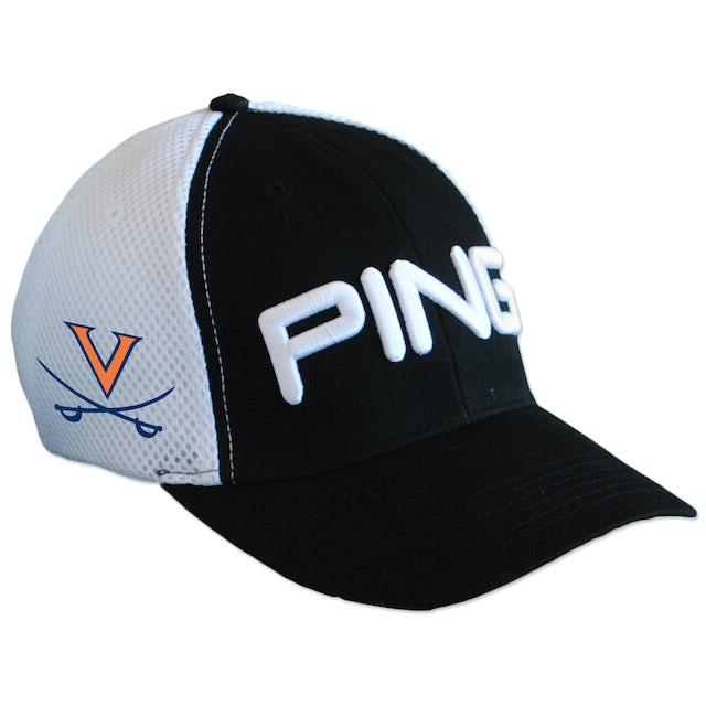 UVA Athletics PING Structured Stretch Fit Foam Sport Mesh Back Cap