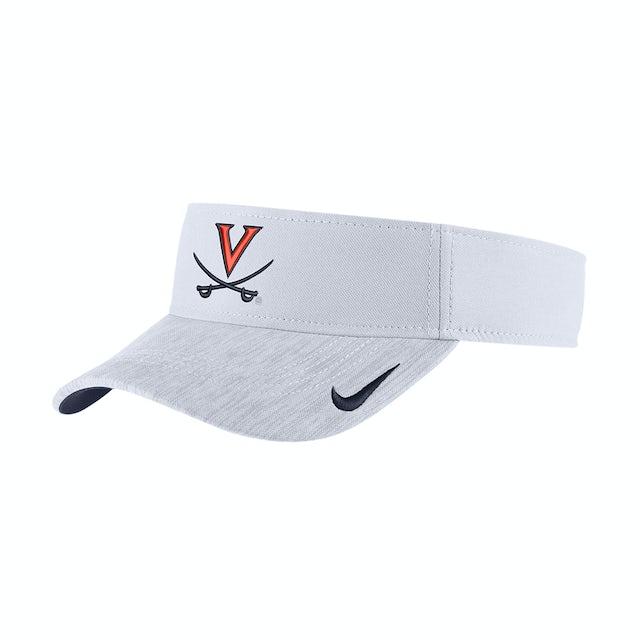 b0226936611 UVA Athletics University of Virginia Sideline Dri-FIT Nike Visor