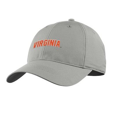 UVA Athletics University of Virginia 2021 Grey Performance Cap