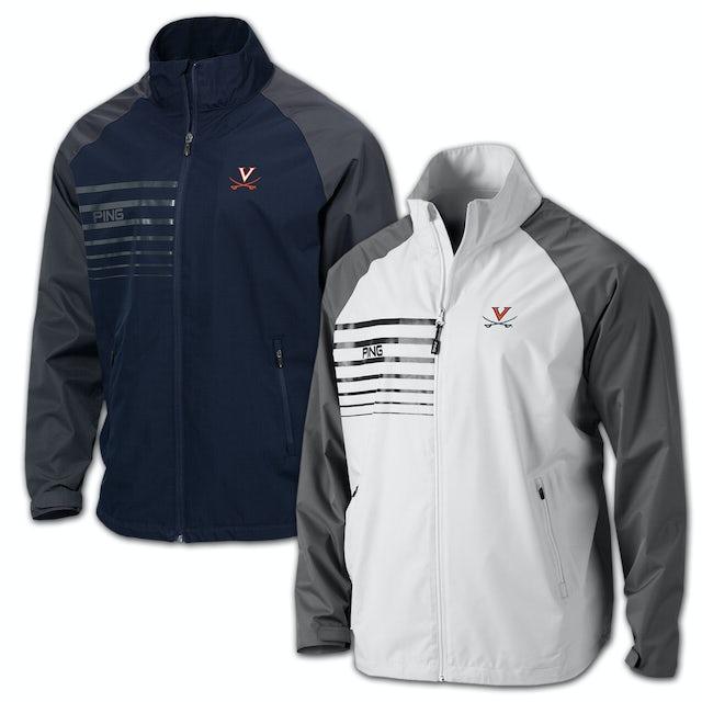 UVA Athletics PING Offset Full Zip Performance Jacket