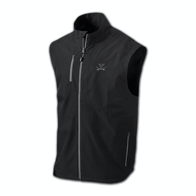 UVA Athletics PING Tee Box Full Zip Performance Vest