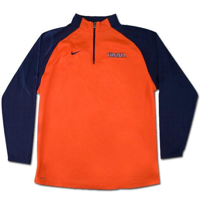 UVA Athletics 1/4 Zip Shoot Around Shirt