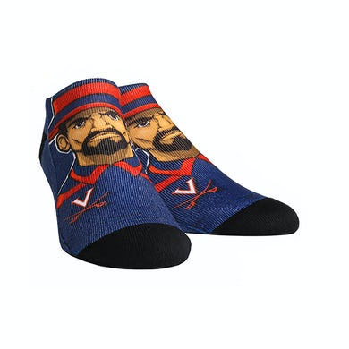 UVA Athletics University of Virginia Cavaliers Low Cut Mascot Adult Socks
