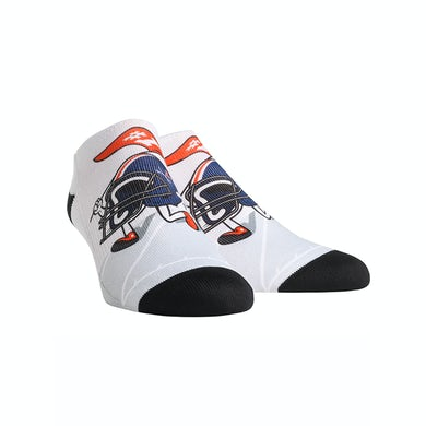 UVA Athletics University of Virginia Cavaliers  Helmet Stride Youth Low Cut Socks