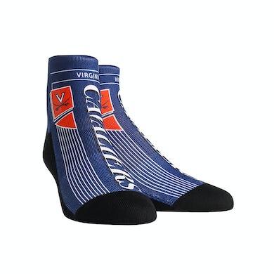 UVA Athletics University of Virginia Cavaliers Vintage Layout Youth Socks