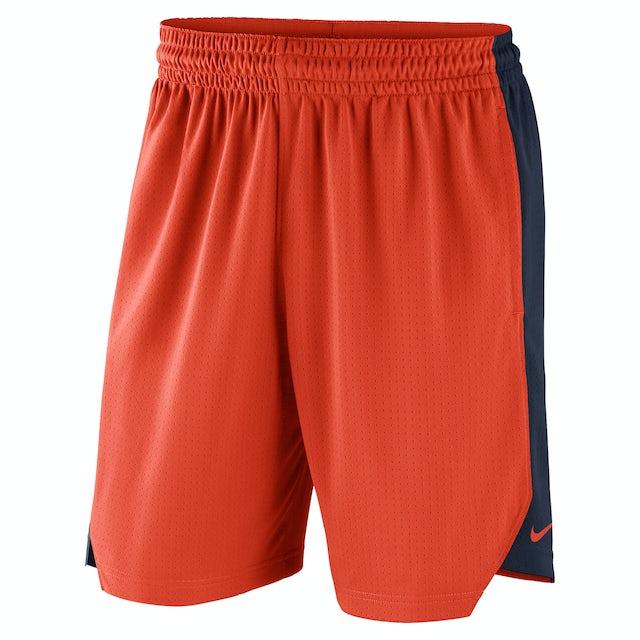 UVA Athletics University of Virginia Orange Nike Shorts