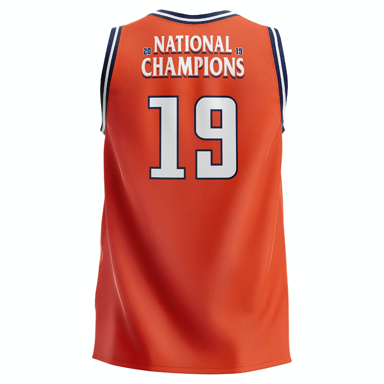 e14dbb426 UVA Athletics 2019 National Champions Youth Orange Jersey